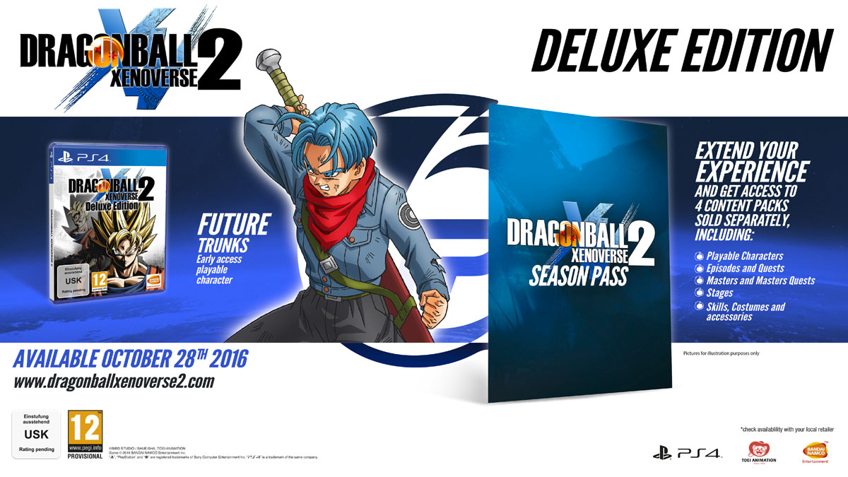 DB Xenoverse 2 - Deluxe Edition