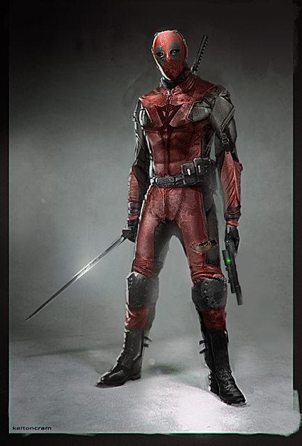 Deadpool arte conceptual