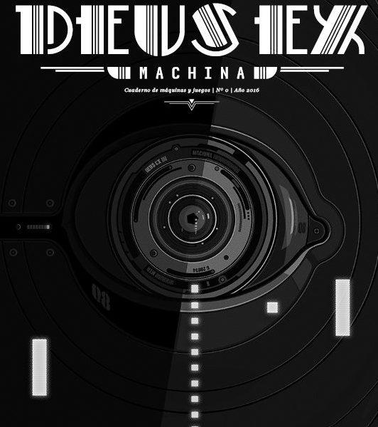 Deus Ex Machina cuaderno de videojuegos portada