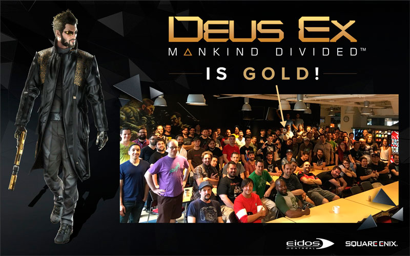 Deus Ex: Mankind Divided Gold