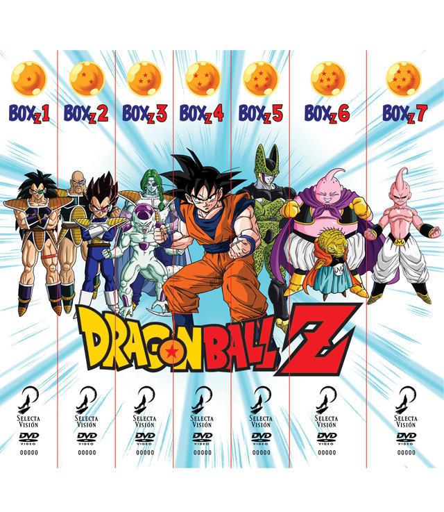 Dragon Ball Z serie completa concurso HC 300