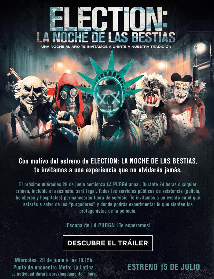 Election: La noche de las bestias en Madrid