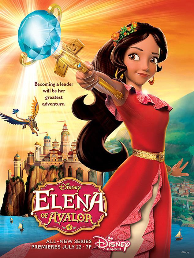 Nueva serie de Disney Elena de Avalor
