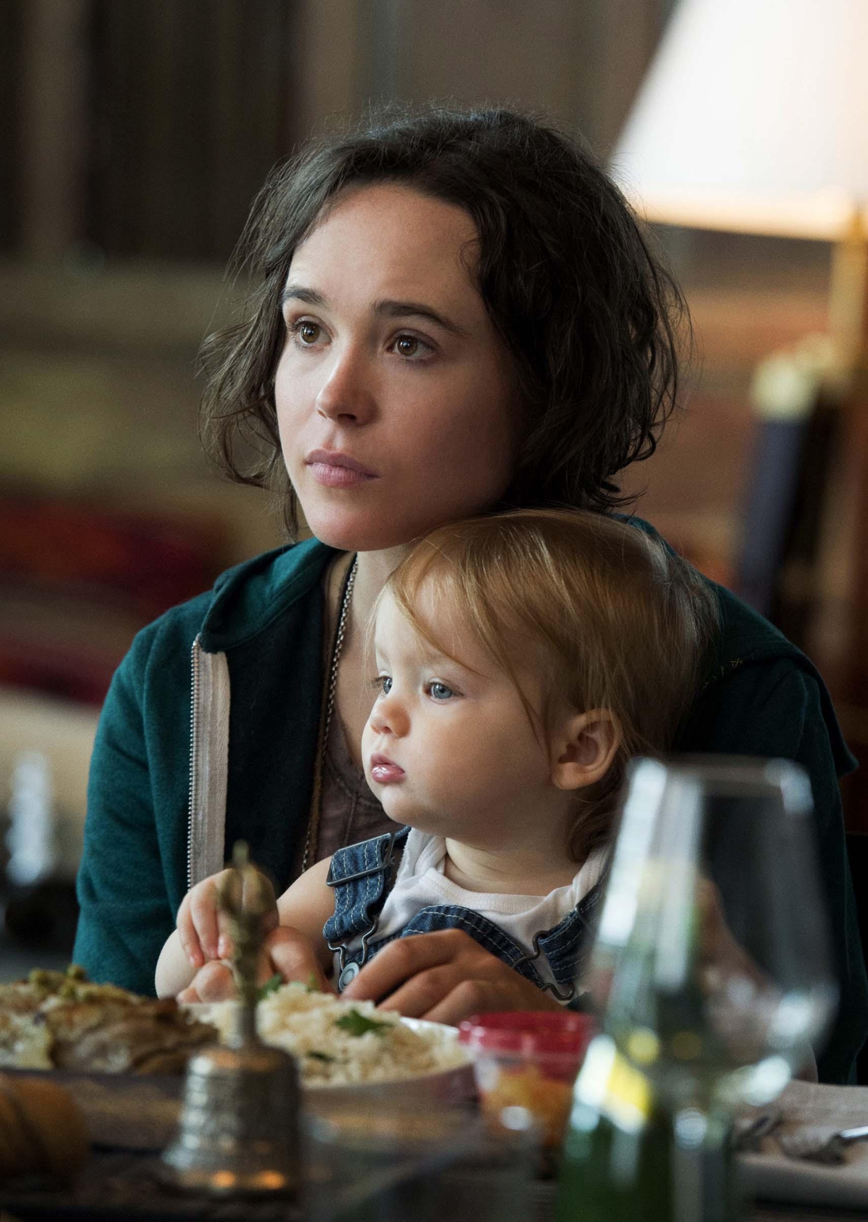 Bebé con Ellen Page Vagabunda