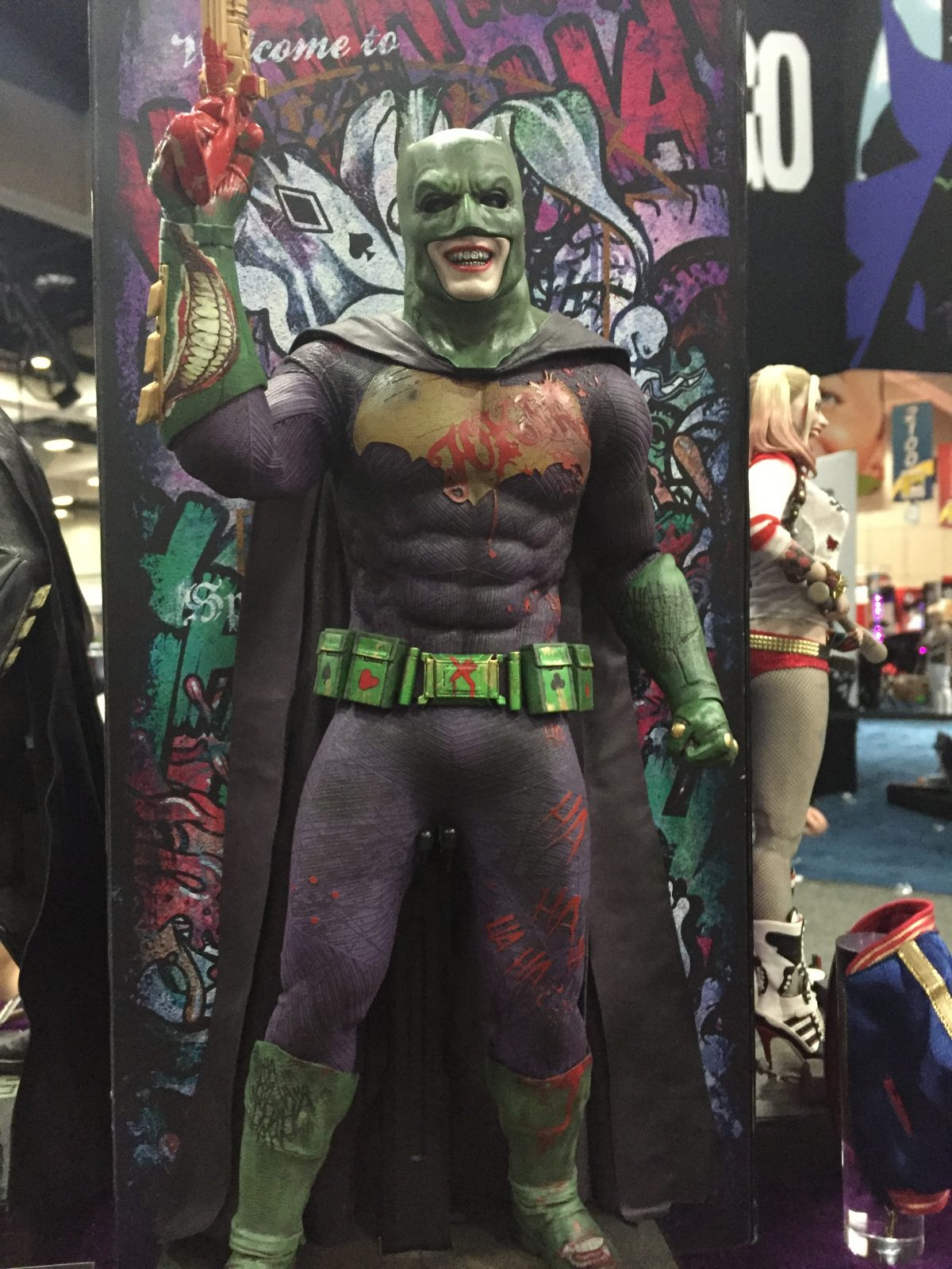 Escuadrón Suicida: Joker como Batman