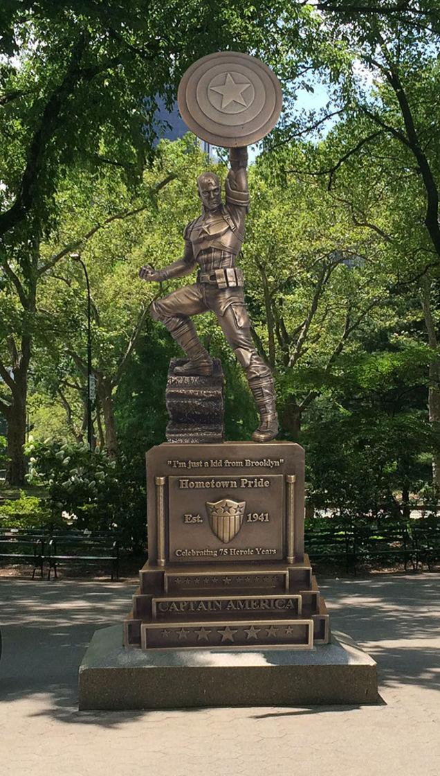 Celebración 75 aniversario Steve Rogers