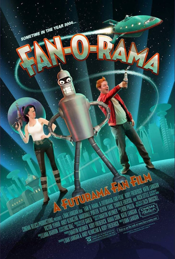 Película fan de Futurama