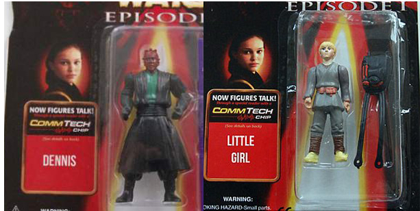 figuras falsas star wars episodio 1 la amenaza fantasma