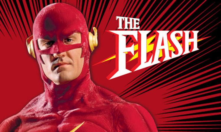 Cabecera de The Flash 1990