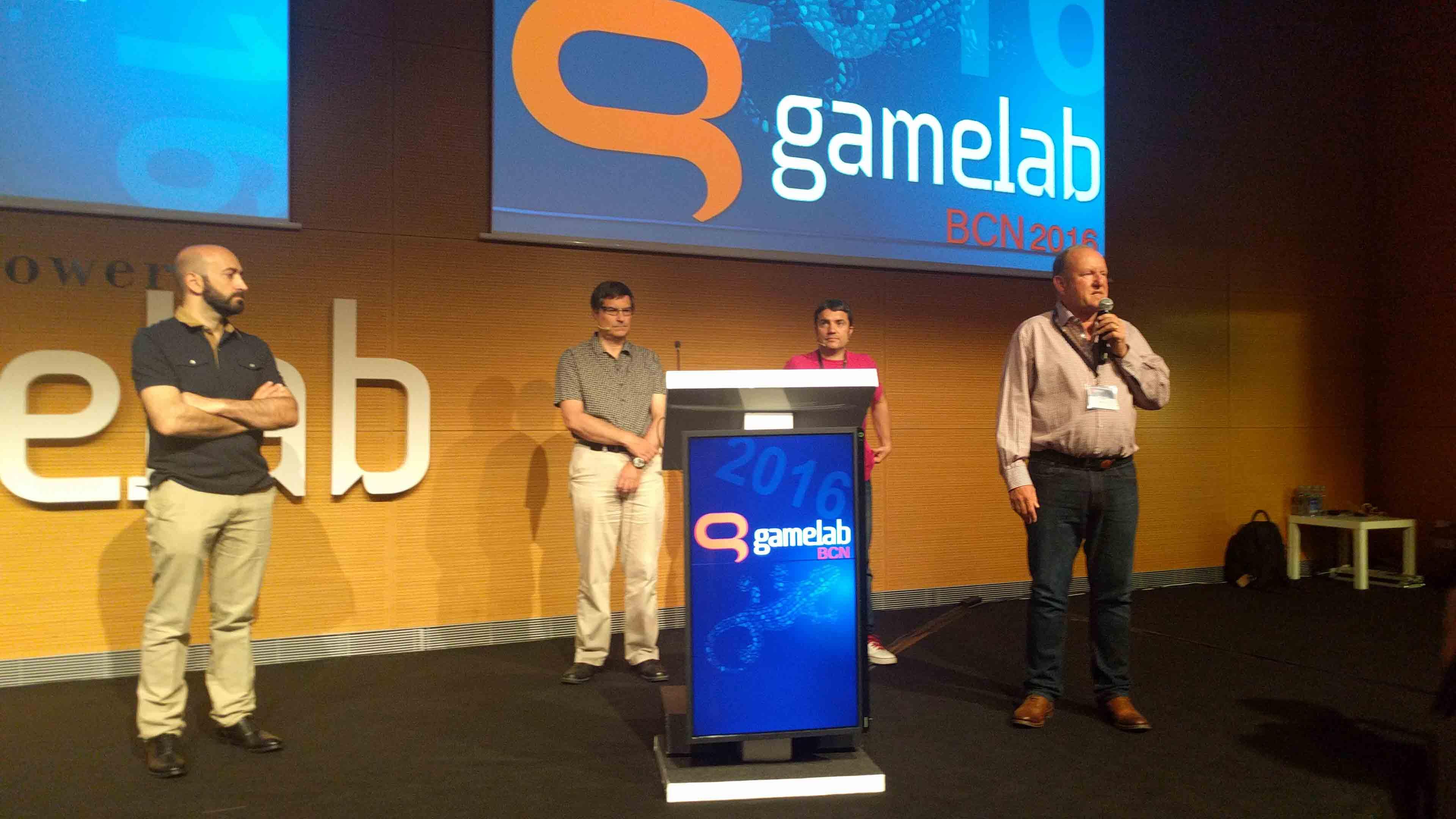 Gamelab Gamelab 2016 David Braben