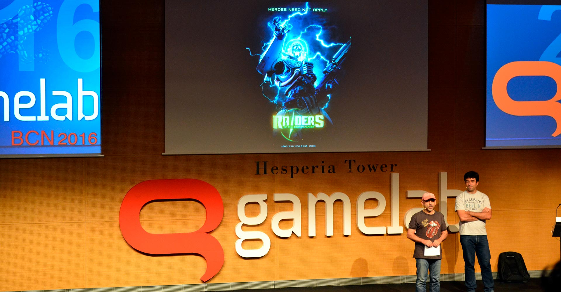 Gamelab 2016 - Raiders of the Broken Planet