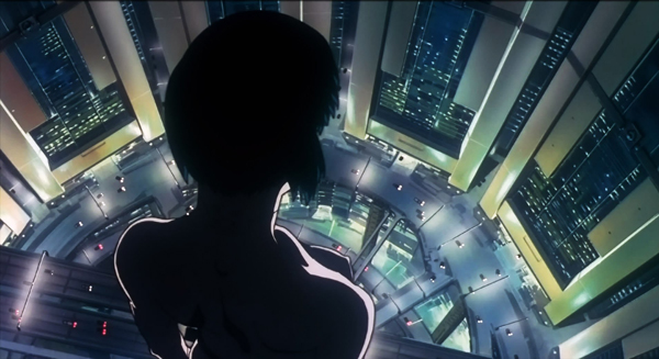 Ghost in the Shell película 1995