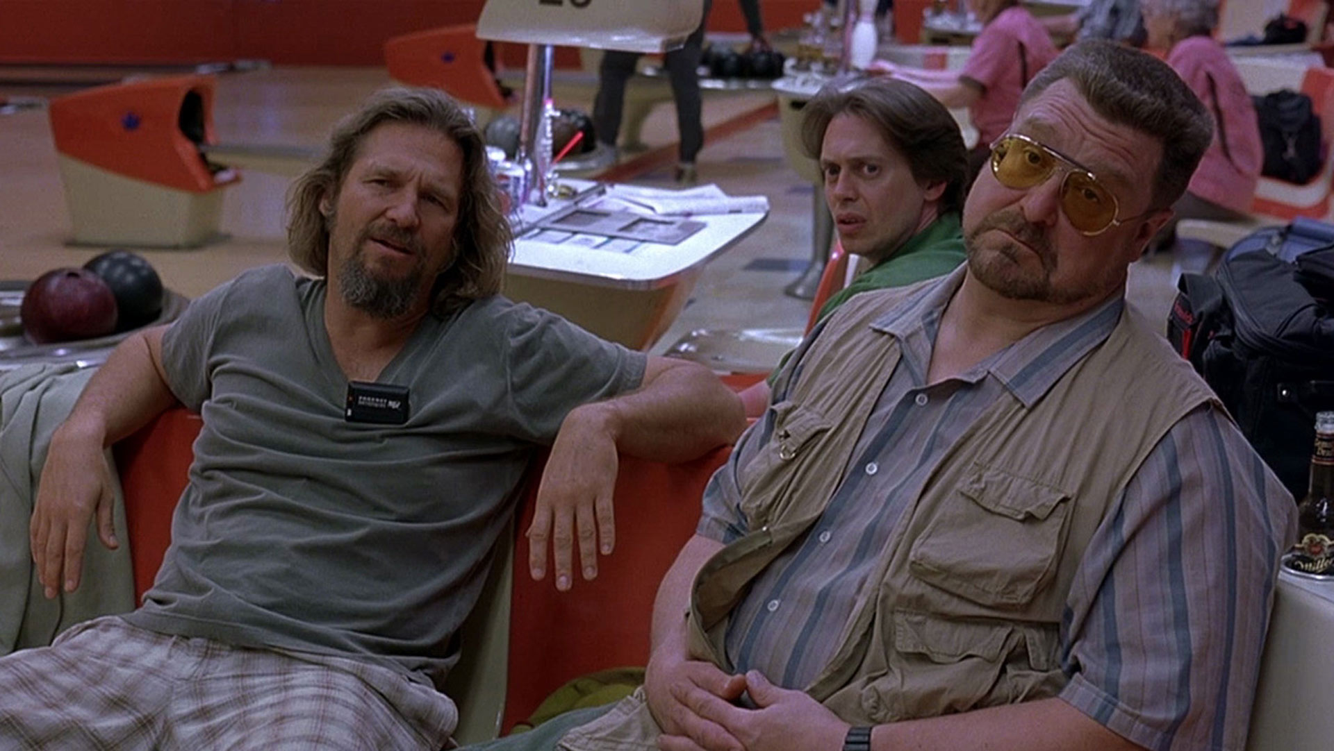 Jeff Bridges, John Goodman, Steve Buscemi
