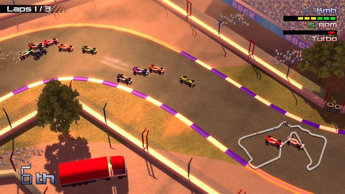 Grand Prix Rock 'N Racing para WiiU 1