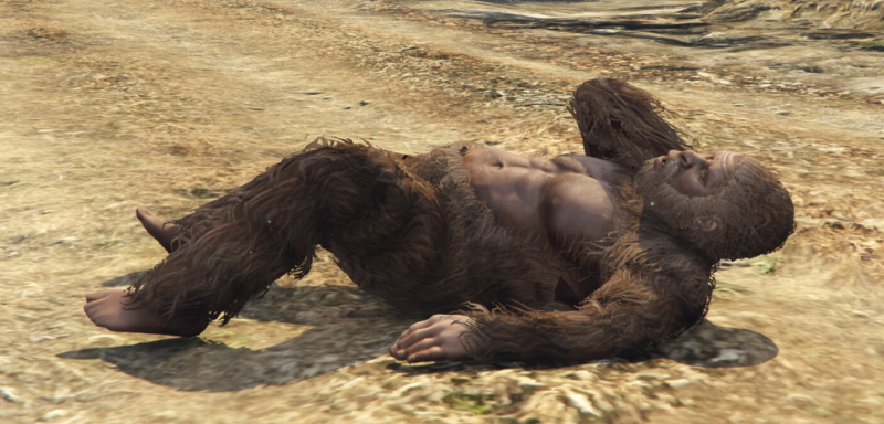 GTA V Caza a la bestia, GTA V Big Foot