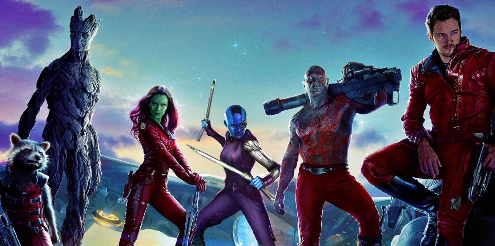 Protagonistas de Guardianes de la Galaxia