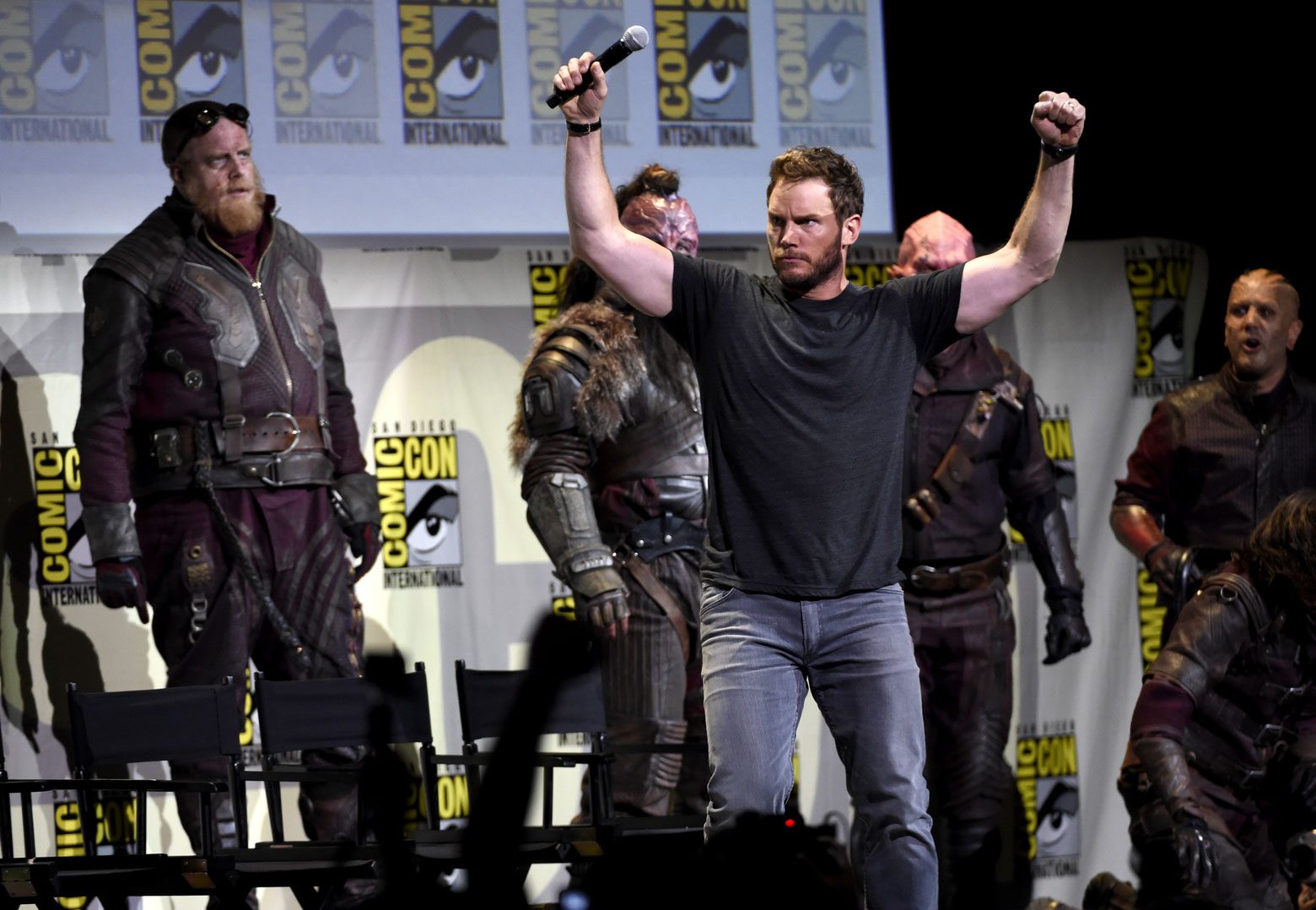 Comic-Con 2016, Marvel, Guardianes