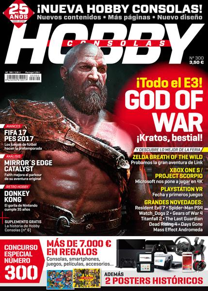 Hobby Consolas 300 portada
