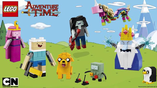 Finn y Jake en formato LEGO ideas