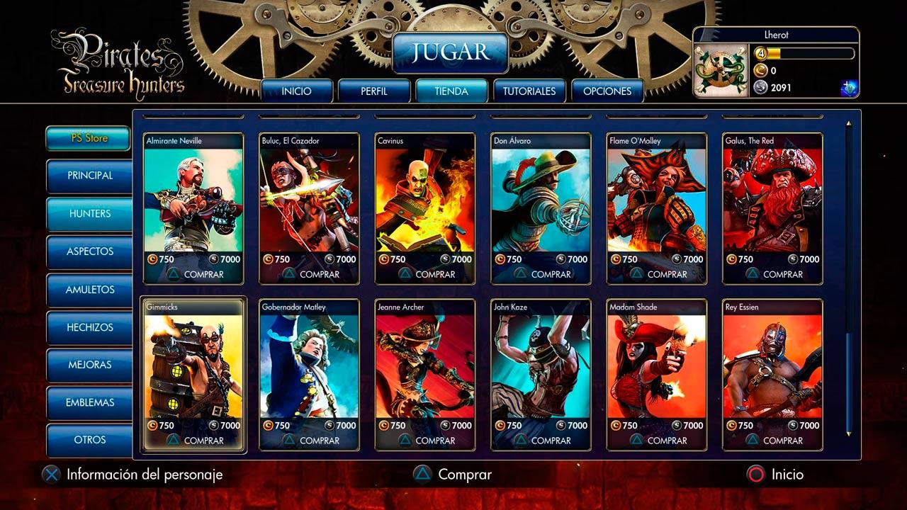 Hunters de Pirates Treasure Hunters