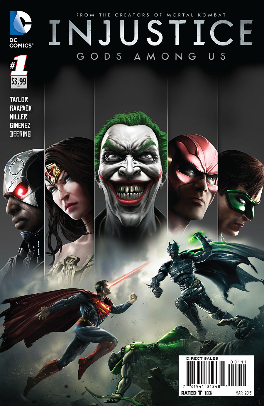Injustice comic
