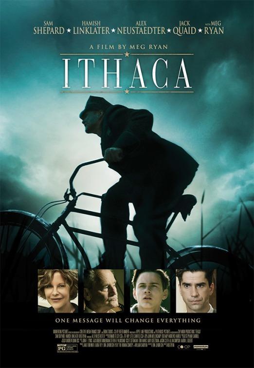 Ithaca cartel oficial del debut de Meg Ryan como directora