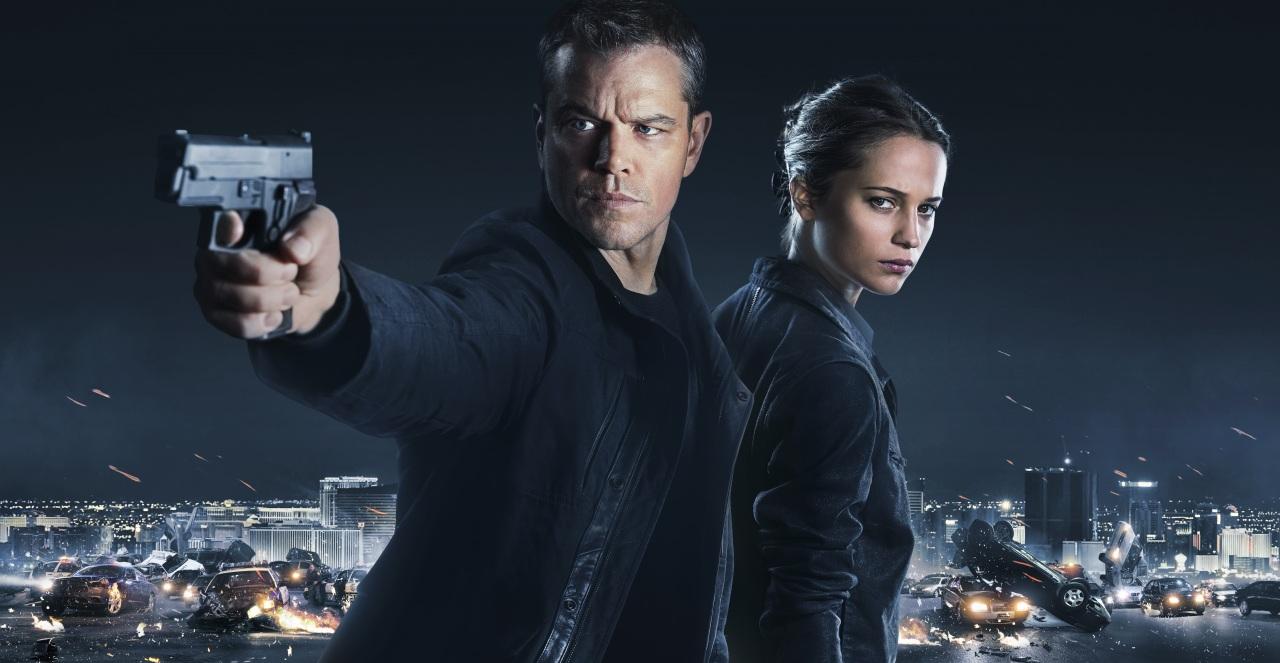Jason Bourne y Alicia Vikander en Jason Bourne