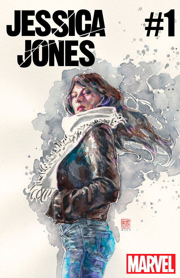 Jessica Jones portada cómic