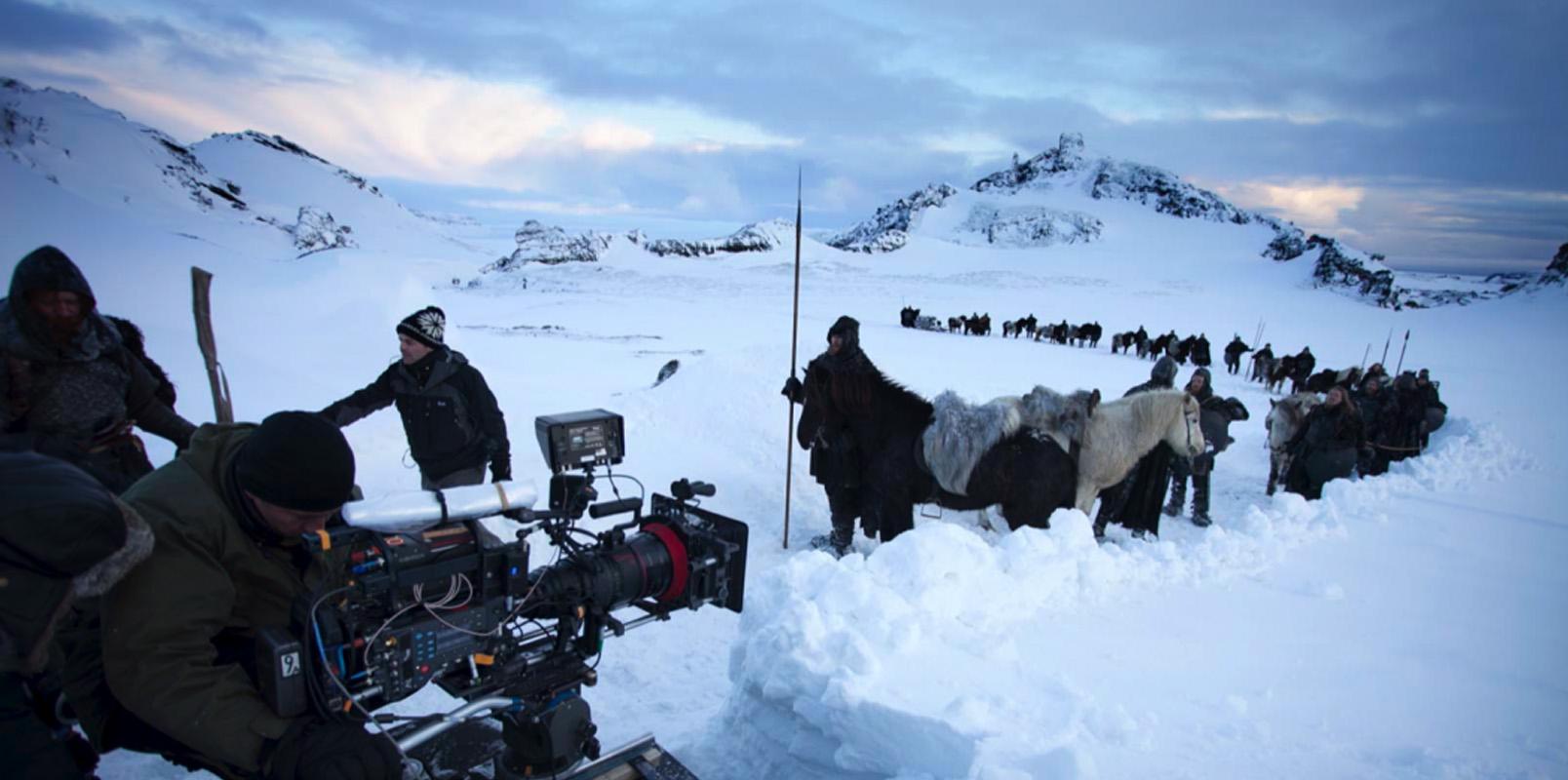 Rodaje en Islandia de Juego de Tronos
