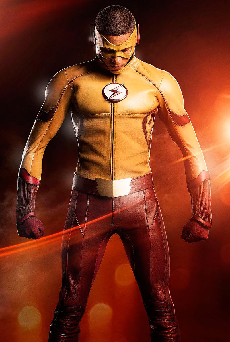 El traje de Kid Flash nuevo personaje