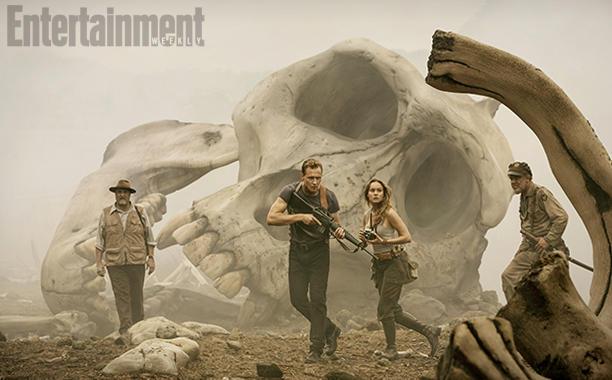 King Kong, Tom Hiddleston, Brie Larson