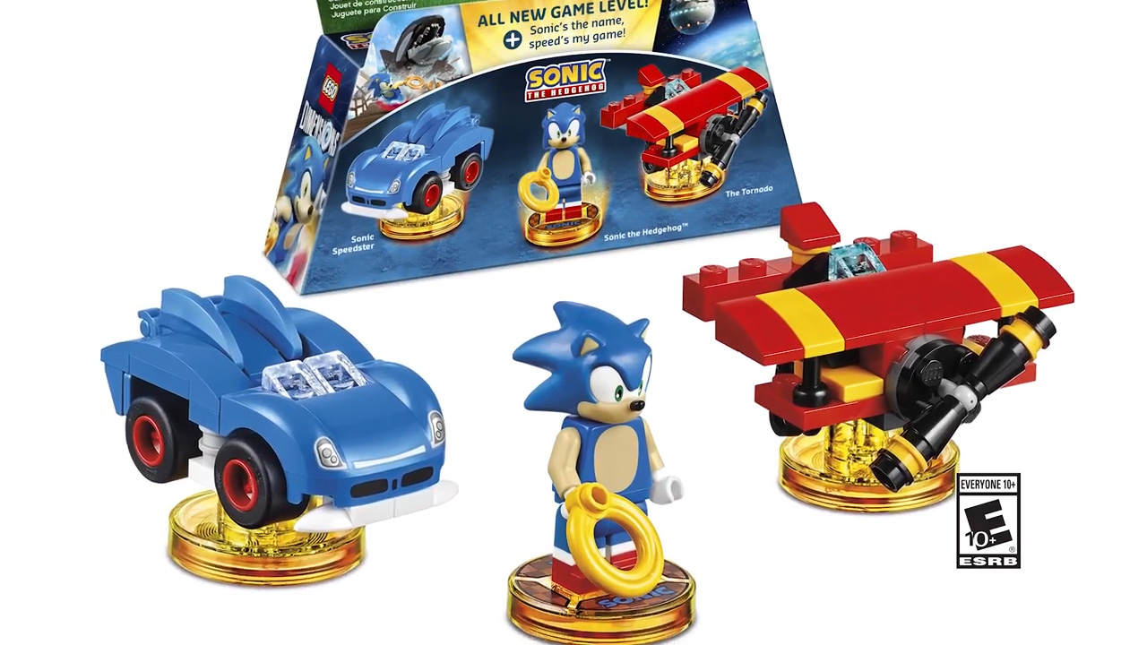 LEGO Dimensions Sonic the Hedgehog pack