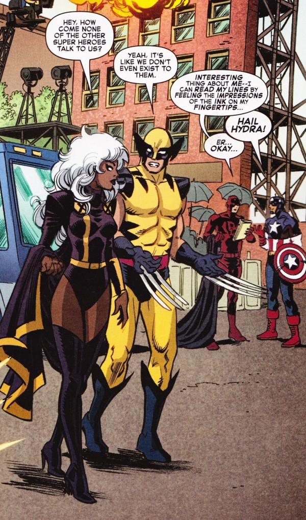 Cómic, Parodia, Fox Marvel