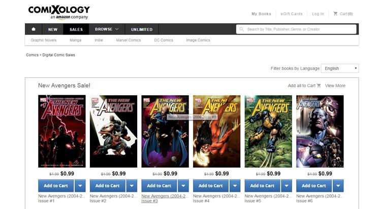 Las mejores páginas de cómic digitales