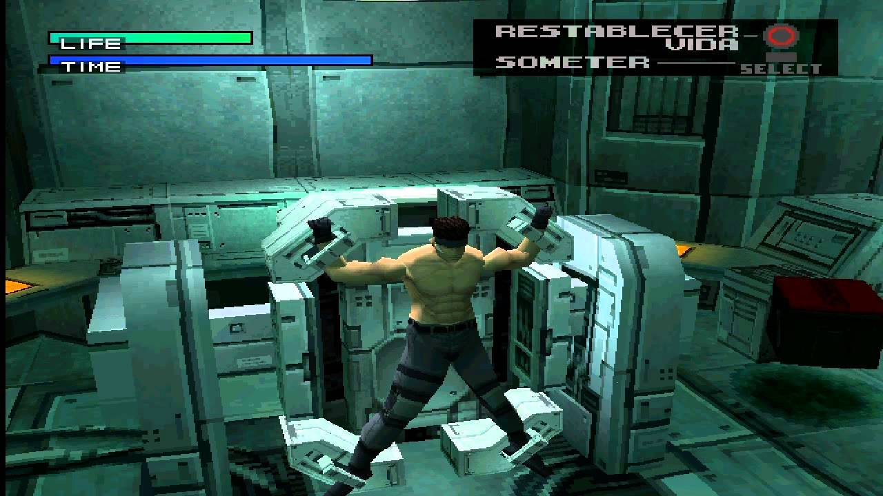 Metal Gear Solid PS1 Retro