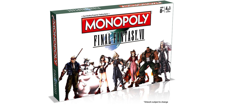 Monopoly del videojuego Final Fantasy VII de Merchoid