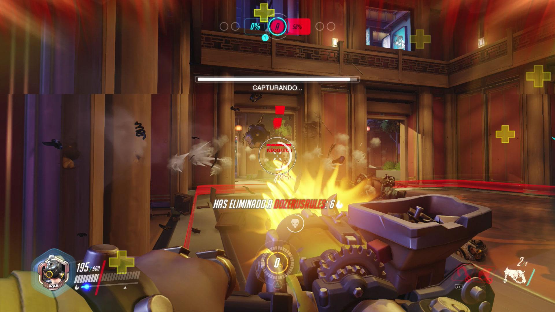 Habilidades de los personajes de Overwatch - Roadhog