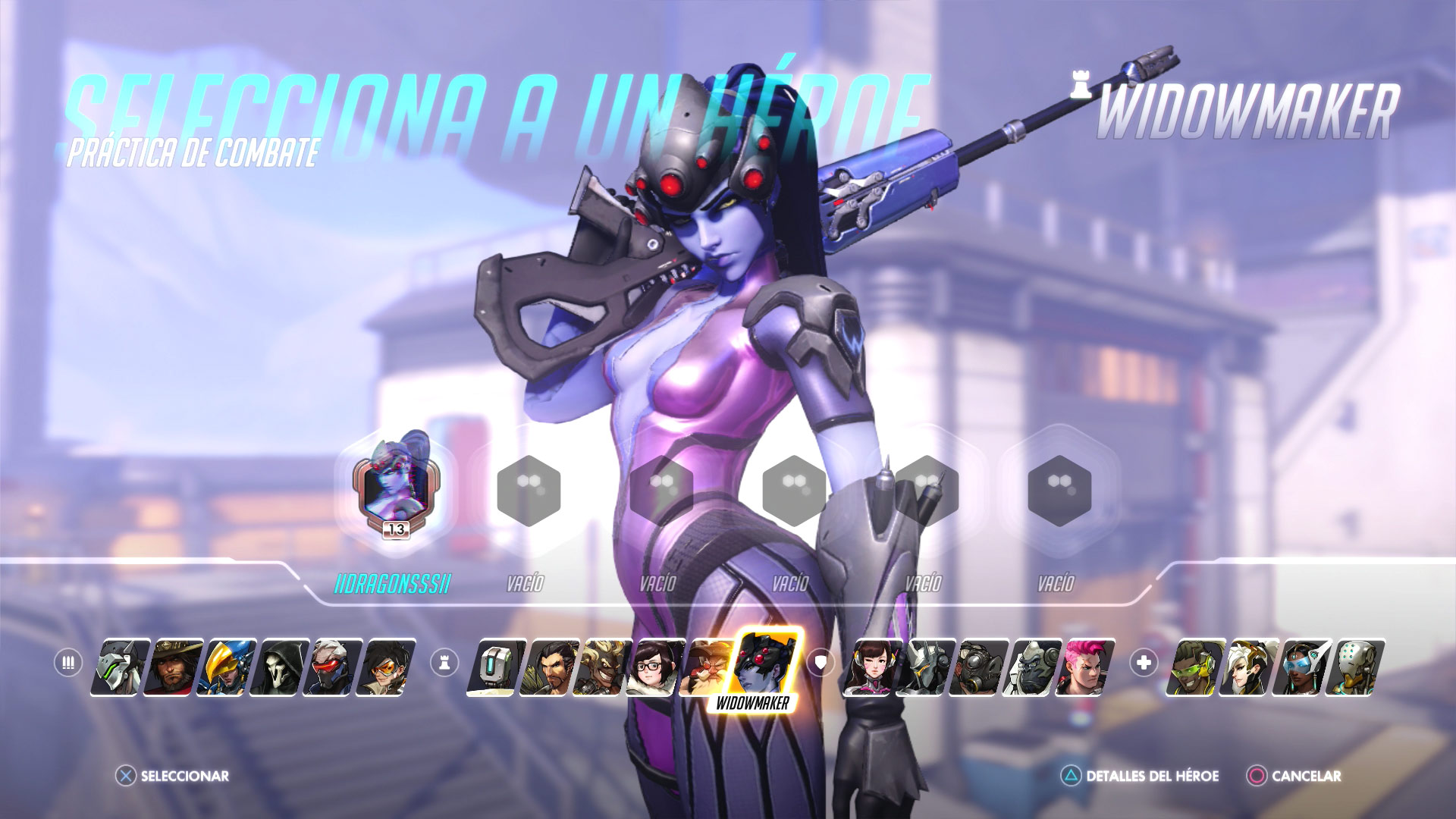 Personajes de Overwatch - Widowmaker