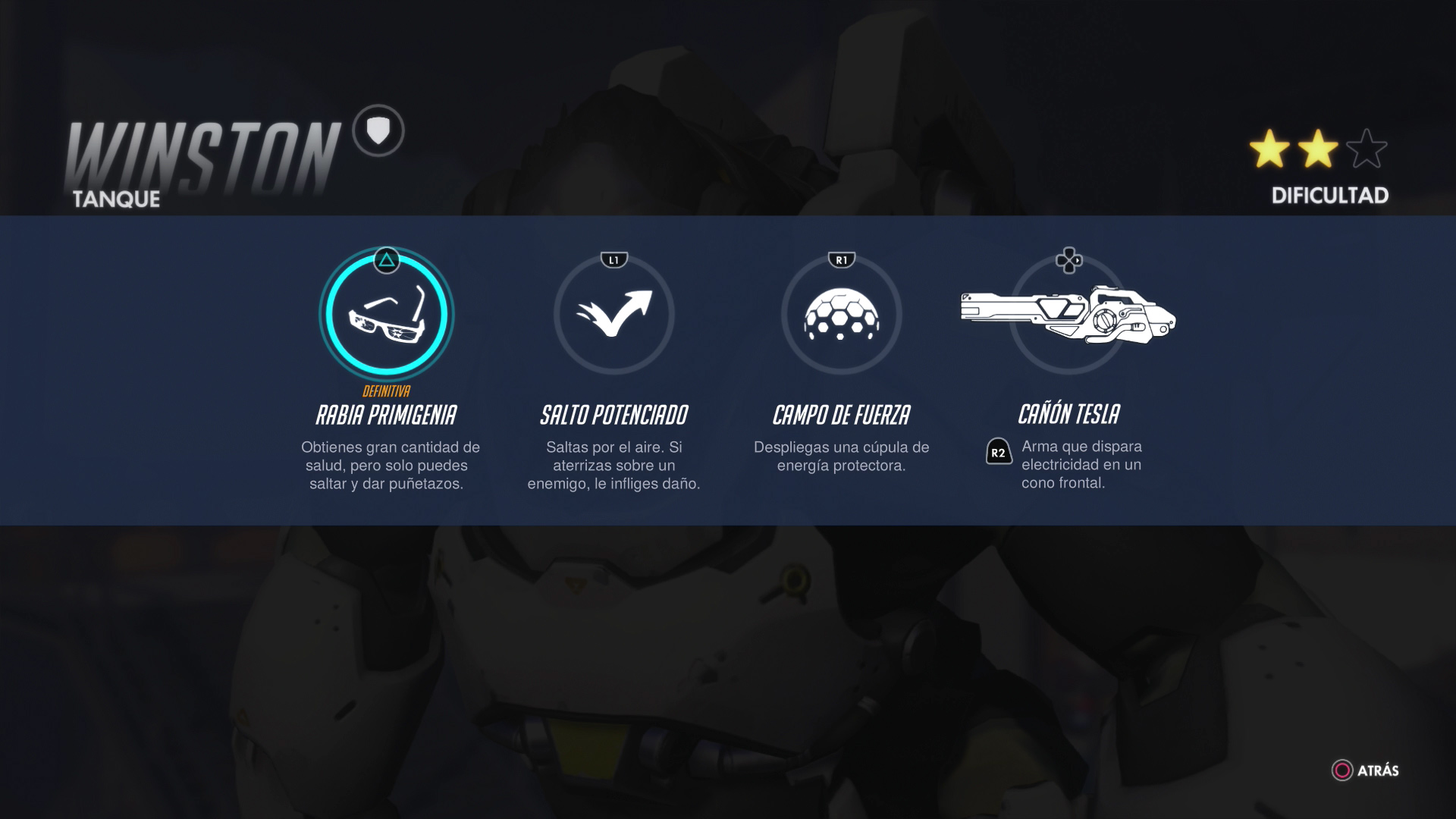 Personajes de Overwatch - Winston