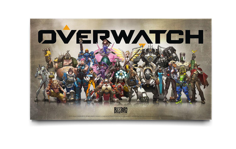 Overwatch placa concurso HC 300