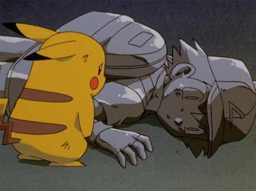 Pokemon Ash de piedra