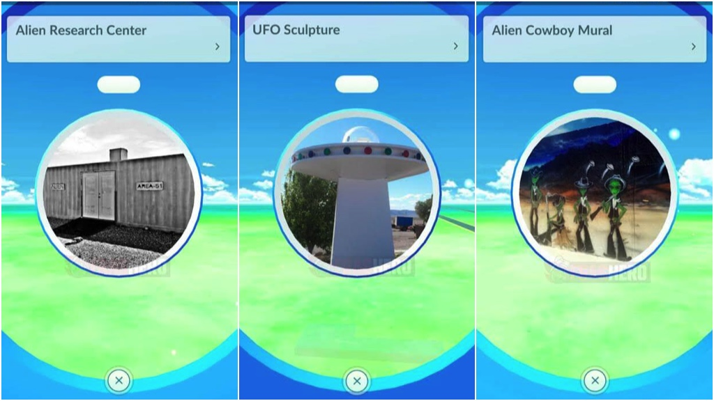 Pokémon GO Área 51
