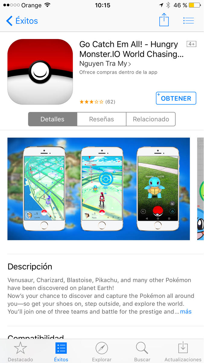 Pokemon Go Clon
