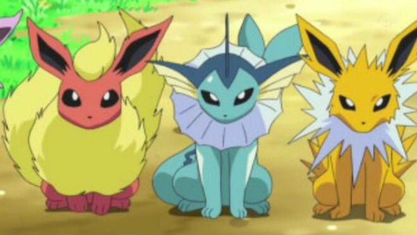 Pokemon And Y Anime Characters Names : Pok�mon go c�mo determinar la evoluci�n de eevee gu�as
