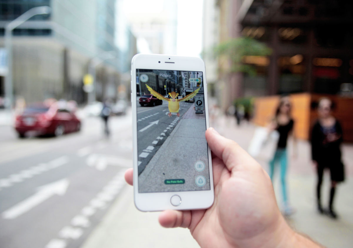 Pokémon Go a pie de calle