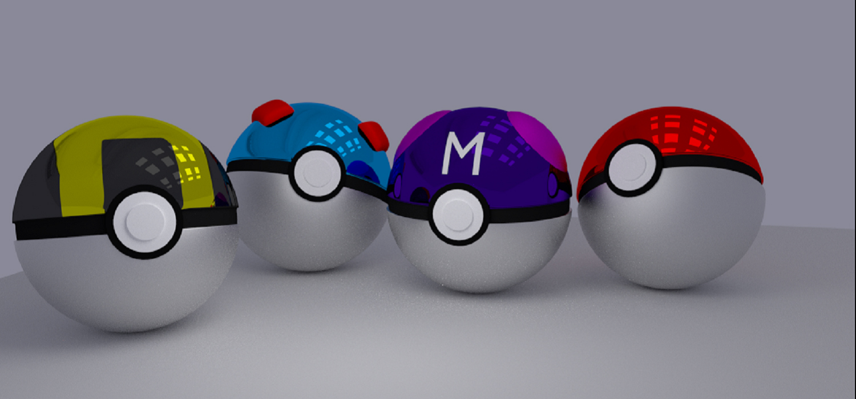 Cool Pokemon Balls Images