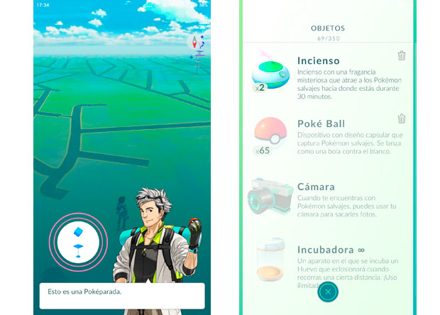 Pokémon GO Poképarada