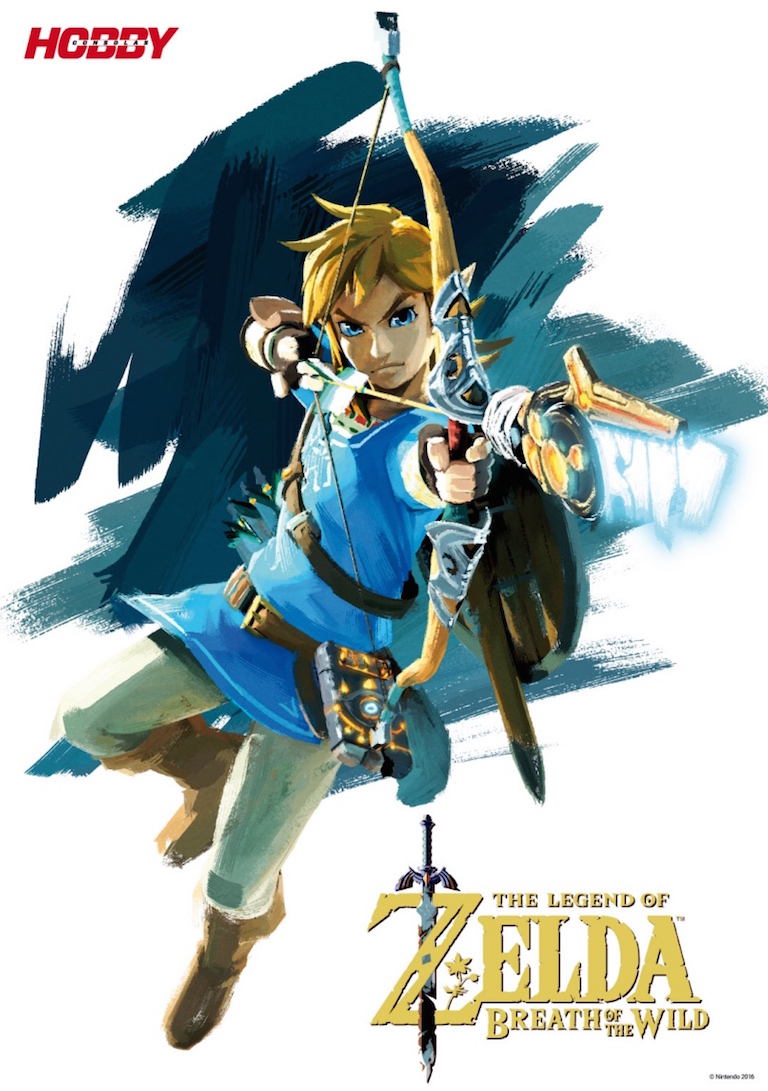 Póster HC 301 The Legend of Zelda Breath of the Wild