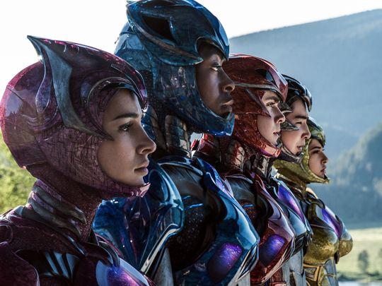 Cara descubierta de los Power Rangers