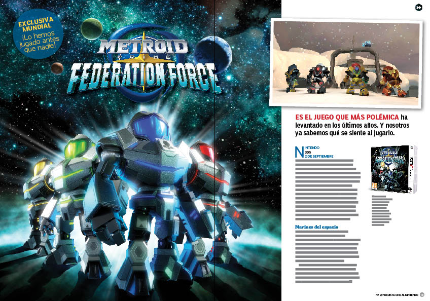 Reportaje exclusivo Metroid Prime Federation Force